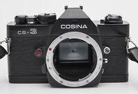 Cosina CS-3 Gehäuse Body SLR Kamera analoge Spiegelreflexkamera