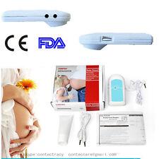 BabySound Fetal doppler Baby Prenatal Heart Monitor with earphone,Gel,blue,FDA