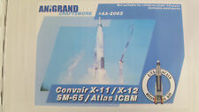 CONVAIR X-11 / X-12 / XB-65 / ATLAS ICBM  ANIGRAND 1/72 RESIN KIT