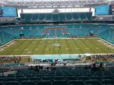 4 Midfield Tickets Miami Dolphins vs New York Jets 11/15