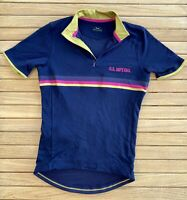 Rapha Imperial Works Mens Small Cycling Jersey Purple