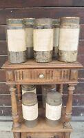 Anciens Pots à Pharmacie/ Flacons d'Apothicaire / Bocaux d'Herboristerie