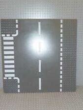 LEGO® Platte 32 x 32 Strasse T Kreuzung dunkelgrau 44341px1 City Grund 7281 P45