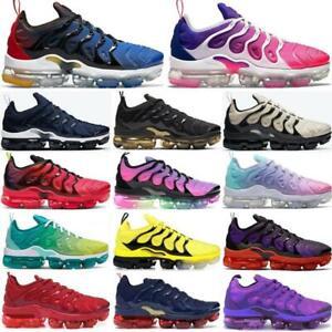 A Womens MensVM Vapor Running Shoes Air Cushion  TN Metallic Trainer Sneaker