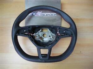 8Tkm Skoda Octavia 5E Rs Steering Wheel 3-Speichenlenkrad Leather Black