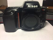 Nikon N50 SLR 35MM Film Camera w/Neck Strap