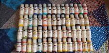 #3 LOT OF 60 GOLDEN Fluid Acrylic Paint 1 oz 30 ml Small Bottles (Mixed Colors)