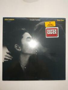 SEALED, John Lennon & Yoko Ono – Double Fantasy GHS 2001, Reissue, Black Label