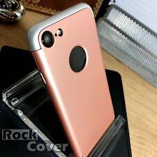 Iphone 7 de alto impacto Shell Funda Base extraíble a prueba de golpes para acoplamiento de oro rosa