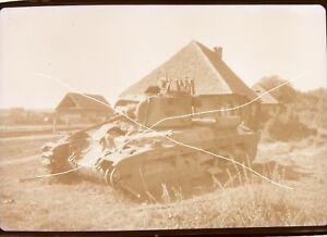 Orig Negativ 6x9 2.WK Wehrmacht Kettenfahrzeug Panzer 1942 Foto: Weinsheimer #1