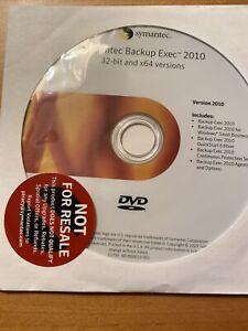 NEW Symantec Backup Exec 2010.32bit And 64bit Versions.NFR. Includes Product Key