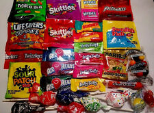 American Candy Assortment Custom Sugar 30 Items Starburst Skittles Wonka +