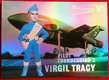 THUNDERBIRDS 50 YEARS - FOIL CHASE CARD - F3 - VIRGIL TRACY - Unstoppable Cards