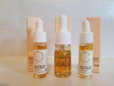 3 FLORA + BAST Age Adapting Facial Oil Serum Travel Size (.17 oz each) NIB