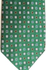 "The Tie Bar Men's Silk Tie 59.5"" X 3.75"" Multi Color Geometric"