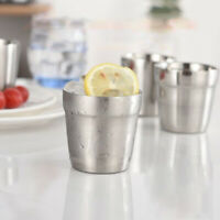 Stainless Steel Double Wall Drinking Mug Travel Coffee Tea Beer Water Cup