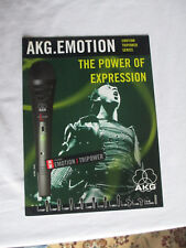 AKG MICROPHONE CATALOG - SOUND REINFORCEMENT