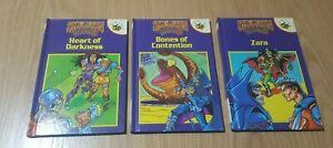 Buzz Books Skeleton Warriors Books 2 To 4 Children's Books 3 Books, EX cond.