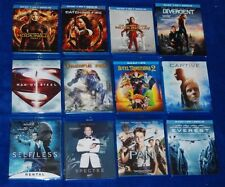 Hunger Games MOCKINGJAY MOVIE LOT 12 BLU-RAY DVD  BULK SET MOCKING JAY