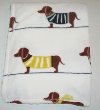 Super Plush Dachshund Throw Blanket