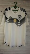 Germany authentic jersey XL 2018 home shirt BR7313 soccer football Adidas