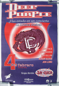 DEEP PURPLE Auditorio Nacional MEXICO City 1994 Concert POSTER Battle Rages On