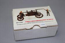 ZC1267 FF Models V3348 Figurines miniature pompiers 1/43 Pompe à bras 1900