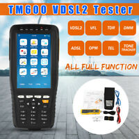 TM 600 All-in-One VDSL2 Tester TDR/ADSL/TEL/OPM/VFL Function Tone Wire