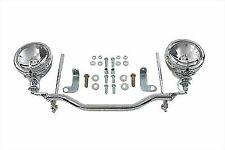 Chrome Spotlamp Kit for Harley Davidson by V-Twin