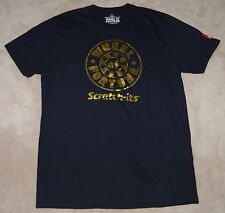 NWOT Oregon Lottery Wheel Fortune Scratch-Its Limited Ed Blue Shirt Mens Size XL