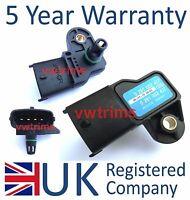 Vauxhall MAP Sensor Manifold Air Pressure  0281002437 93171176 73503657 Fiat etc