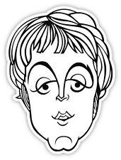 "The Beatles Paul McCartney sticker decal 4"" x 5"""
