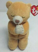 Ty Beanie Baby HOPE Praying Bear Has Tag With Alot Of Errors RARE!