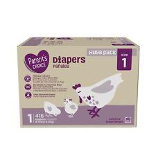Parent's Choice Diapers, Size 1, 416 Ct, Mega Box