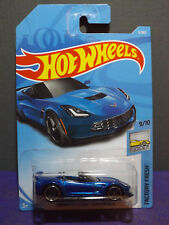 2018 Hot Wheels CORVETTE C7 Z06 CONVERTIBLE, FACTORY FRESH series 9/10 Long card