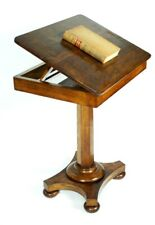 Antique William IV Rosewood Adjustable Reading Table - FREE Shipping [5158]