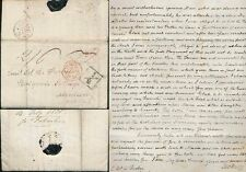 GB 1820 LETTER to LT.FORBES ABERDEEN ADD 1/2d + CONTENT