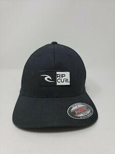 Rip Curl Flexfit Truckers Cap Black NWT One Size Fits All