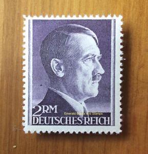 EBS Germany 1942 Adolf Hitler Hitlerkopf 2 Mark Michel 800A MNH**