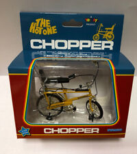 Toyway The Hot One Raleigh Chopper Bicycle Yellow 70's Bike 1 12 Scale Die Cast