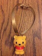 "Disney Winnie the Pooh "" Pooh ""  Vinyl Mini Christmas Ornament NEW"