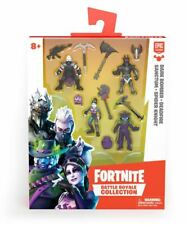 Fortnite Battle Royal Collection 4 Figures, 8 Accessories & 4 Figures Bases