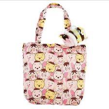 Piglet Winnie The Pooh Bee Disney TSUM TSUM Plush Reusable Shopping Bag