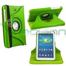 Pellicola+Pennino+Custodia VERDE rotante per Samsung Galaxy Tab 3 7.0 T210 T211