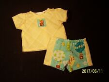 """Clothes for 11""""-12"""" Baby Doll Boy Shirt Shorts Corolle Melissa & Doug 2+"""