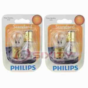 2 pc Philips Front Turn Signal Light Bulbs for Mercury Colony Park Comet yx