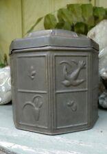 Vintage Verkade's Biscuits, Holland, Dutch, Tin Box, Canister, Nice Patina