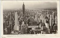 1947 RPPC Postcard View from RCA Building Manhattan New York Skyline Vintage