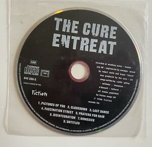 The Cure Entreat Promo Cd