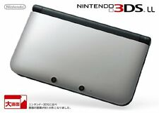 Nintendo 3Ds Ll Xl Console System Silver Black Japanese game Japan Model F/S